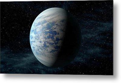 Kepler-69c Metal Print