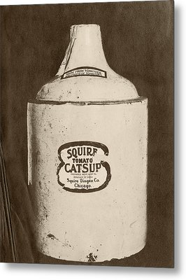 Ketchup Bottle Metal Print by Us National Archives