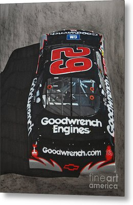 Kevin Harvick Goodwrench Chevrolet Metal Print by Paul Kuras