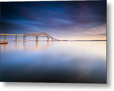 Key Bridge 2014 Metal Print by Edward Kreis