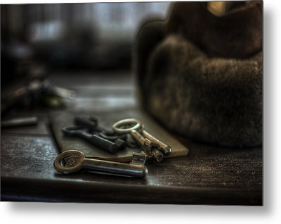 Key Of Life Metal Print by Nathan Wright