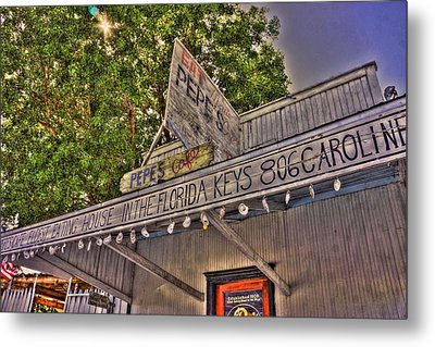 Metal Print featuring the photograph Key West Eatin by Joetta West