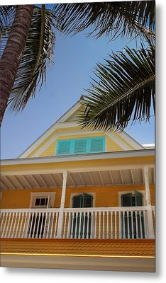 Metal Print featuring the photograph Key West House by Glenn DiPaola