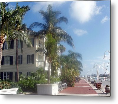Metal Print featuring the photograph Key West In Florida by Teresa Schomig