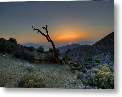 Keys View Sunset Metal Print