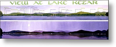 Kezar Lake View Metal Print