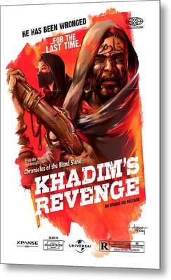 Khadim's Revenge - Mock Movie Poster Metal Print