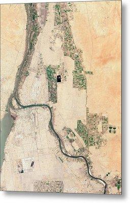 Khartoum Metal Print by Nasa Earth Observatory