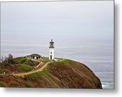 Kilauea Lighthouse Metal Print by Scott Pellegrin