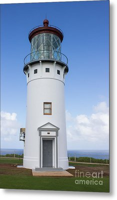 Kilauea Lighthouse Metal Print by Suzanne Luft