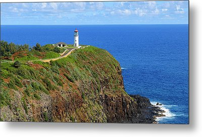 Kilauea Point National Wildlife Refuge Metal Print by Douglas Peebles