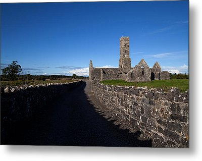 Kilconnell Friary Founded In 1353 Metal Print