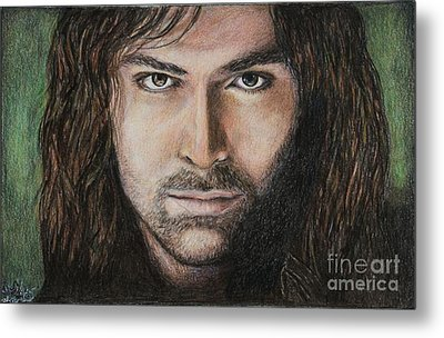 Kili The Dwarf Metal Print