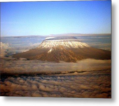 Kilimanjaro Metal Print by Tuntufye Abel