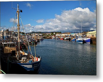 Kilkeel On The County Down Coast Metal Print by Panoramic Images