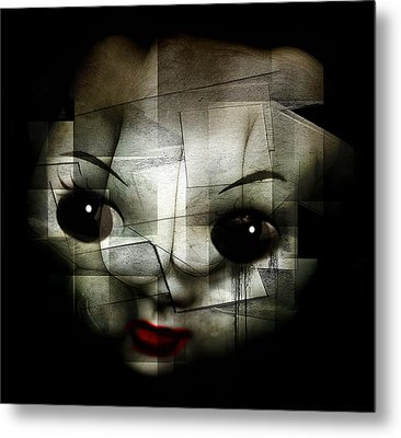 Kill The Clown Metal Print by Johan Lilja