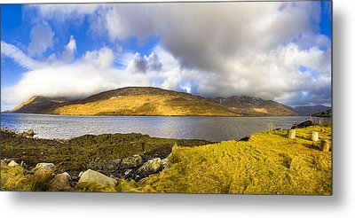 Killary Harbour On The Irish West Coast Metal Print by Mark E Tisdale