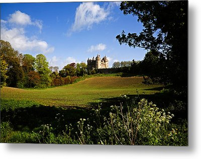 Killyleagh Castle, Co Down, Ireland Metal Print by Panoramic Images