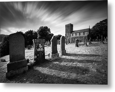 Kilmartin Parish Church Metal Print by Dave Bowman