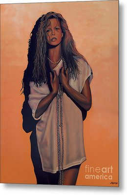 Kim Basinger Metal Print by Paul Meijering