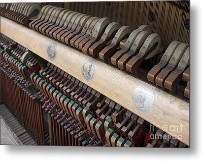Kimball Piano-3471 Metal Print by Gary Gingrich Galleries