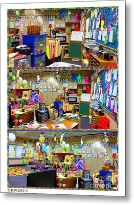 Kindergarten Classroom Metal Print