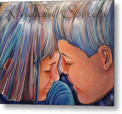Kindred Spirits II Metal Print