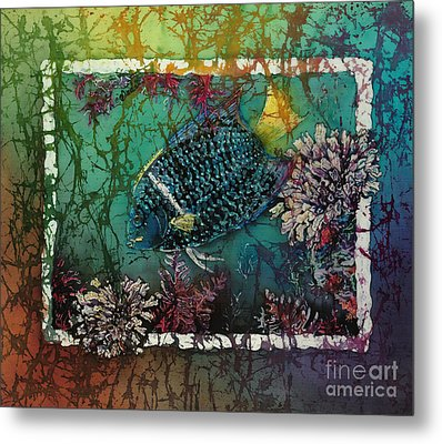 King Angelfish Metal Print