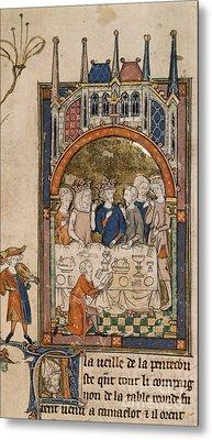 King Arthur's Feast Metal Print