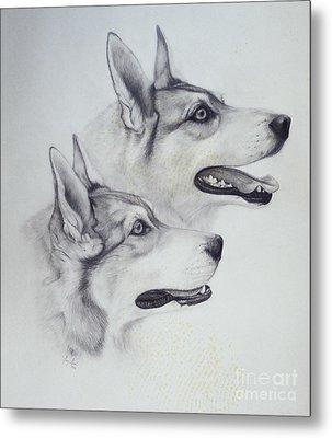 King Dogs Metal Print by Joey Nash