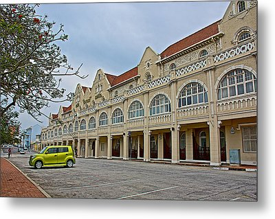 King Edward Hotel In Port Elizabeth-south Africa Metal Print by Ruth Hager