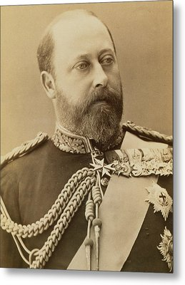 King Edward Vii  Metal Print