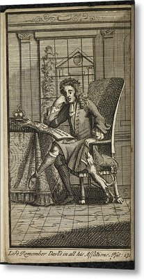 King James 11 King Of England Metal Print by British Library