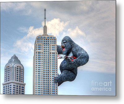 King Kong Comes To Myrtle Beach Metal Print