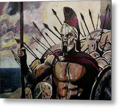 King Leonidas Metal Print