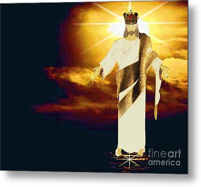 King Of All Kings Metal Print by Belinda Threeths
