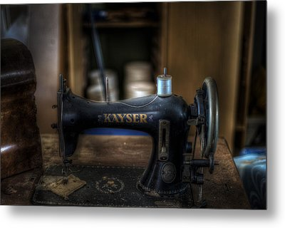 King Of Sewing Machines Metal Print by Nathan Wright