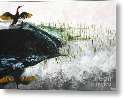 King Of The Hill Metal Print by Carol Northington