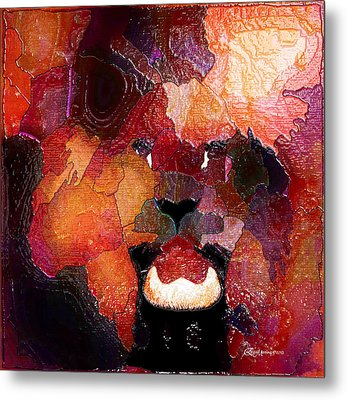 King Of The Jungle-featured In Comfortable Art-faa Gallery Artists Who Create And Wildlife Groups Metal Print by EricaMaxine  Price