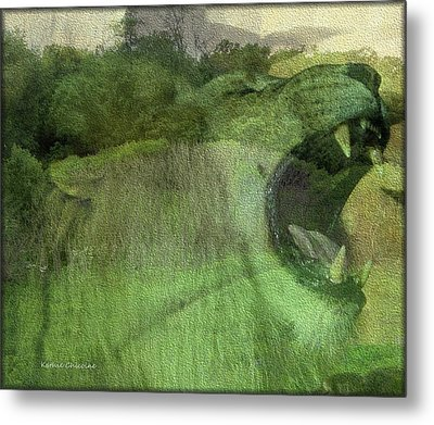 Metal Print featuring the photograph King Of The Jungle by Kathie Chicoine