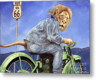 King Of The Road... Metal Print by Will Bullas