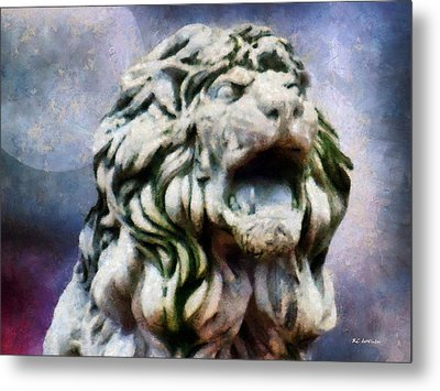 King Of The Sky Metal Print by RC deWinter