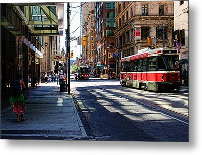 King Street East Metal Print by Nicky Jameson
