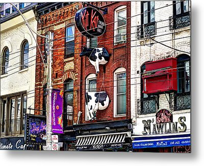 King Street West Metal Print by Nicky Jameson
