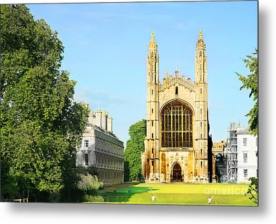 King's College Chapel Metal Print by Eden Baed