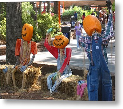 Kings Dominion - Halloween - 12124 Metal Print by DC Photographer