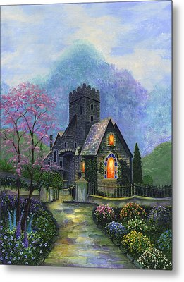 King's Garden Metal Print by Bonnie Cook