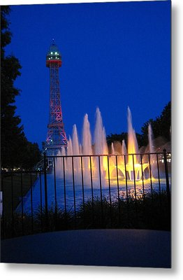 Kings Island - 121240 Metal Print by DC Photographer