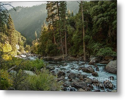 Kings River 1-7824 Metal Print