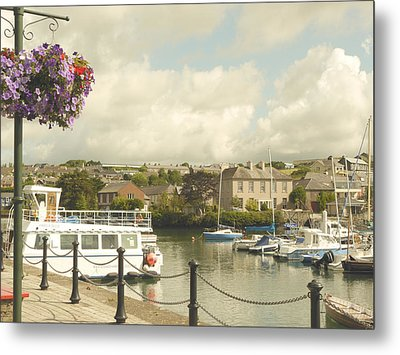 Metal Print featuring the photograph Kinsale Harbor by Winifred Butler